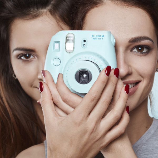 Studio lifestyle portrait of two best friends hipster crazy girls